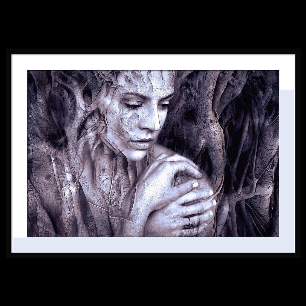 Opprinnelig Tree Woman stort bilde - DEZTINÉ Art Collection - Fotokunst & Bilder OE-03
